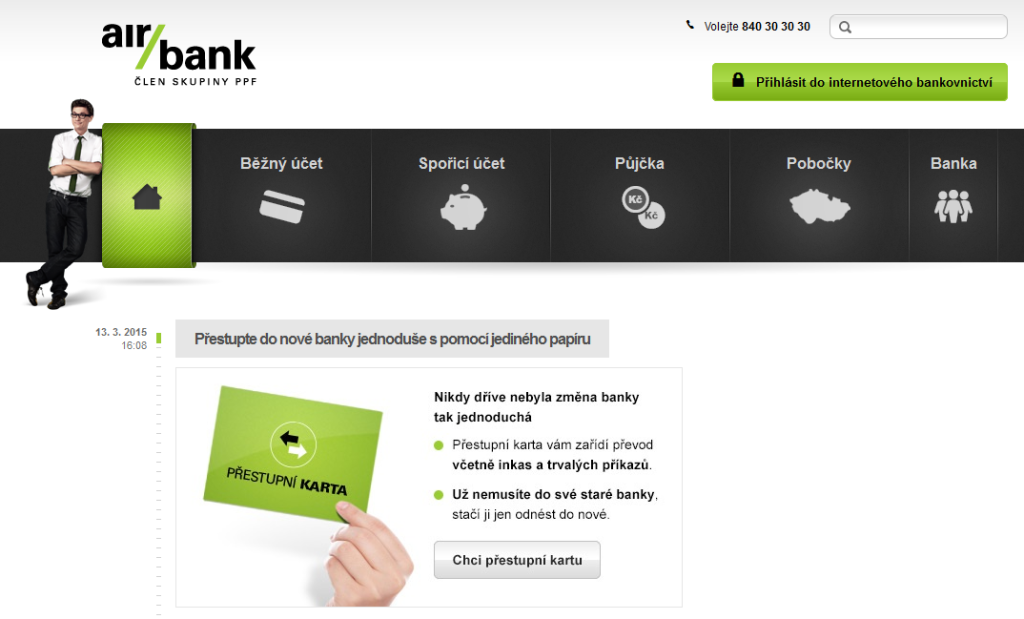 Air bank - nejlevnejsi pujcka na trhu
